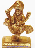 Bahuchara mata idol - Devi Who Rides a Rooster (Goddess Worshipped by transgenders) - Devshoppe