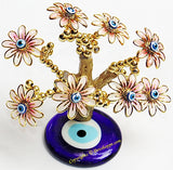 Feng Shui Evil Eye Tree for good luck and Prosperity - Pink colored - Devshoppe