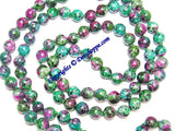 Ruby Zoisite beads mala of Premium quality - Devshoppe