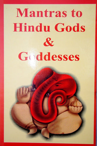 Mantras to Hindu Gods & Goddesses (In Four Volumes) - Devshoppe