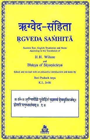 Rgveda Samhita (4 vols.)  (Sanskrit text with English translation) - Devshoppe