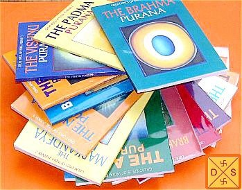 Set of 19 Puranas - Small books - Devshoppe
