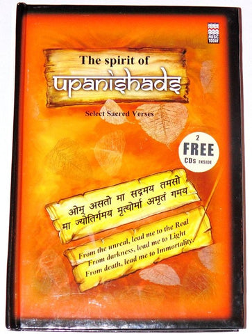 The Spirit Of Upanishads book with 2 free Cds - Devshoppe