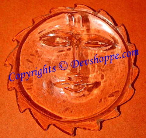Crystal Sun (Surya) for Power, Authority and Luck in business - Devshoppe