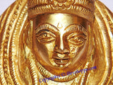 Goddess Tulja Bhavani idol in brass - Devshoppe