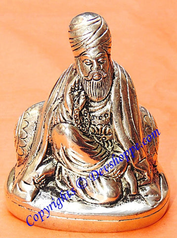 Guru Nanak Dev idol in Panch dhatu - Devshoppe