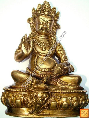 Lord Kuber idol in Brass - Devshoppe