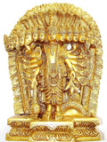 Lord Vishnu Virat Swaroop Statue - Made in Brass - Devshoppe - 1