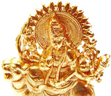 Set of ten small Durga idols for gifting purpose - Devshoppe - 2