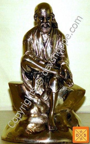 Sri Shirdi Sai Baba idol in Ashtadhatu - Devshoppe