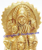 Surya Bhagwan (Sun god) idol in brass - Devshoppe - 2