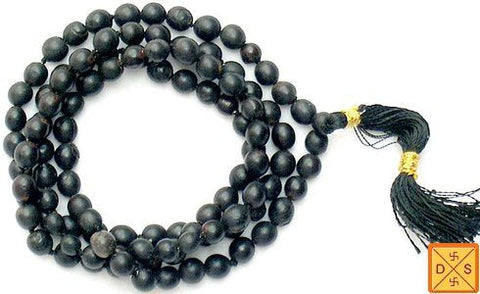 Black Vaijanti mala for protection - Devshoppe