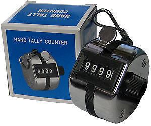 Brand New Four Digit Hand Tally Counter to count chanted Mantras - Devshoppe