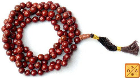 Jasper mala for boosting immune system and extracting pollutants from the body - Devshoppe
