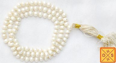 Pearl mala for peace and getting rid of anger fits - Devshoppe