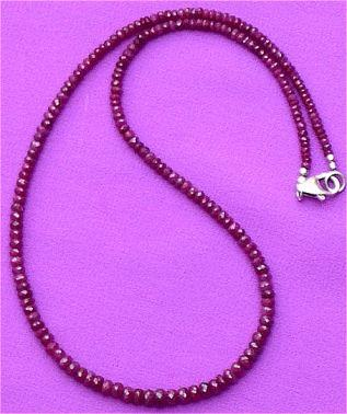 Precious Ruby (Manik) necklace - Devshoppe