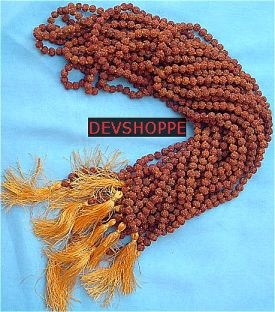Rudraksha malas 6 MM wholesale lot ( 12 malas ) - Best buy - Devshoppe