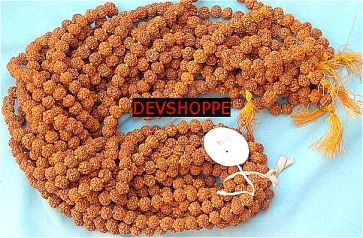 Rudraksha Malas Wholesale Deal 8 mm and 10 mm malas - Devshoppe