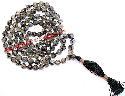 Rutile quartz mala to attract love and stabilize relationships - Devshoppe