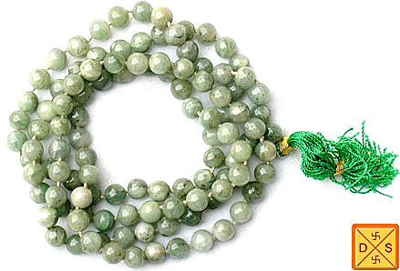 Tibetian jade mala for emotional balance and stability - Devshoppe
