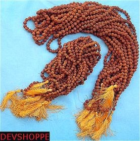 Wholesale lot of Rudraksha malas 5 MM and  6 MM - Best Buy - Devshoppe