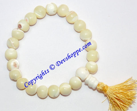 Mother of Pearl power bracelet