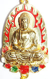 Beautiful Meditating Buddha hanging for Car, Wall, Door - Devshoppe