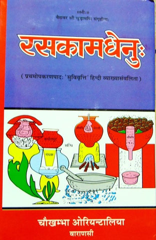 Ras Kamdhenu ( रसकामधेनु:) - Set of 3 books - Devshoppe - 1