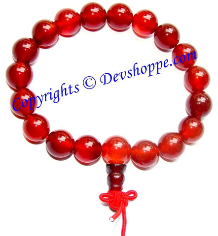 Carnelian Power bracelet for Goodluck , comfort and Protection - Devshoppe
