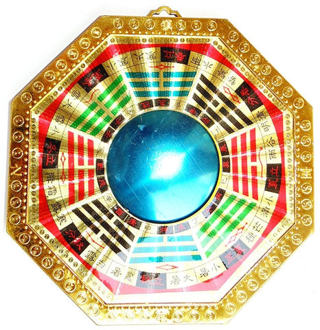 Feng Shui The Bagua (Pa Kua) Mirror- Manipulates the Negative Outside Energies - Devshoppe