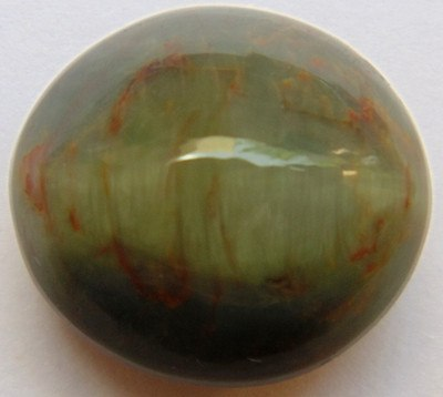 Lab Certified Natural Cat's eye gemstone (Lehsunia) 18.39 Carat - Devshoppe - 1