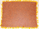 Rudraksha mat , made from 9 mm premium quality Rudrakshas - Devshoppe - 2