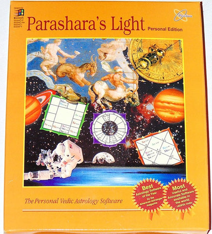 Parashara's Light Astrology software Personal Edition - Devshoppe - 1