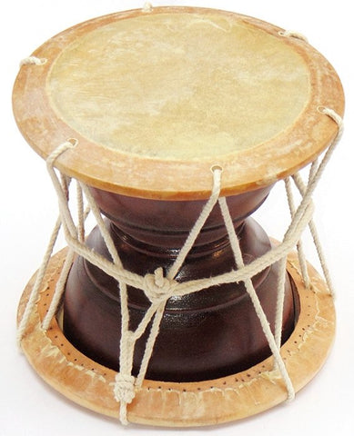 Rajasthani folk musical Hand Percussion (Drum) instrument - Deru - Devshoppe