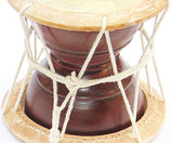 Rajasthani folk musical Hand Percussion (Drum) instrument - Deru - Devshoppe - 2