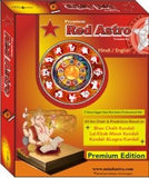 Red Astro Premium 8 - Hindi Astrology Horoscope Software CD - Devshoppe - 1