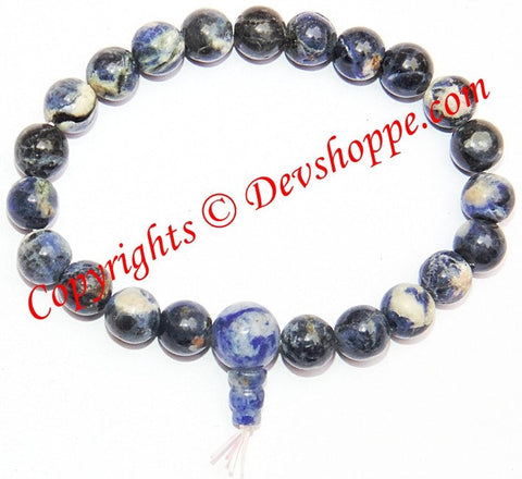 Healing Reiki Natural Blue Sodalite Gemstone Power bracelet ~ High Quality beads - Devshoppe