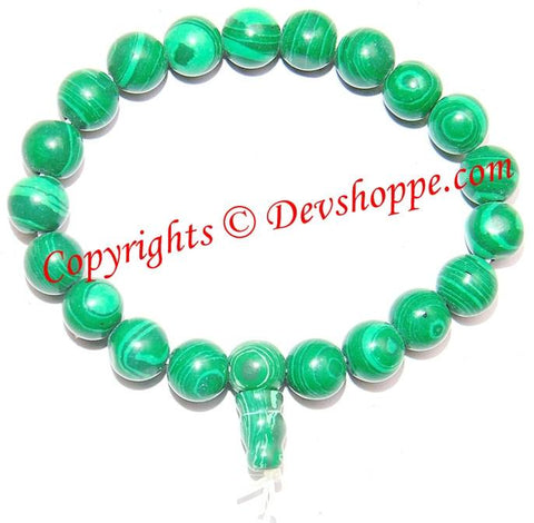 Malachite Power bracelet ~ High Quality beads - Devshoppe