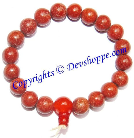Red Jasper Power bracelet for Stability and Protection~ High Quality beads - Devshoppe