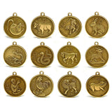 Set of 12 Chinese Zodiac Coins - Devshoppe - 1
