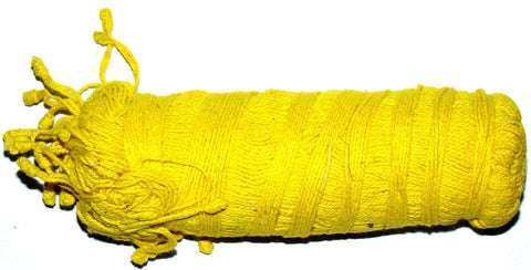 Yellow colored Sacred Tread (Janeu) - Enhances Purity and Gives Long Life and Divine Bliss - Devshoppe