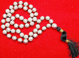 Parad mala 9 mm sized beads in diamond cutting , Superb quality - Devshoppe - 1