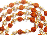 Rudraksha Parad combination mala for spiritual benefits, Super quality - Devshoppe - 2