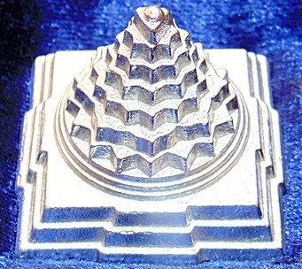 Parad Shree yantra ( Sriyantra ) for wealth and prosperity 200 gms - Devshoppe