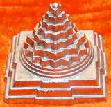 Parad Shree yantra (Sriyantra) for wealth and prosperity 50 gms - Devshoppe