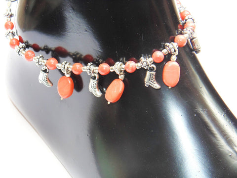 Churu Anklet - made up from Churu beads - Devshoppe