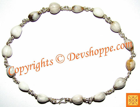 Vaijanti beads bracelet in Sterling silver for Vashikaran, Attraction and Devi Siddhi - Devshoppe