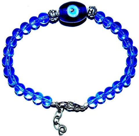 Evil eye lucky charm bracelet for protection - Devshoppe