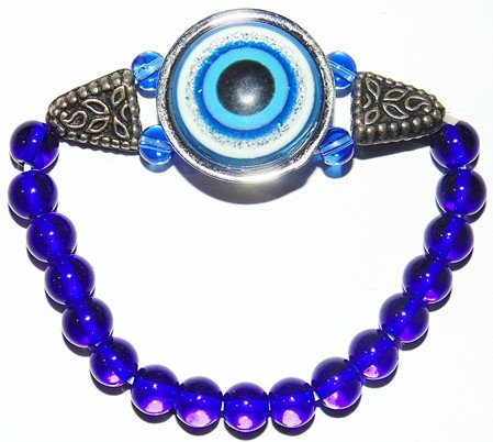Evil eye protection charm bracelet - Devshoppe