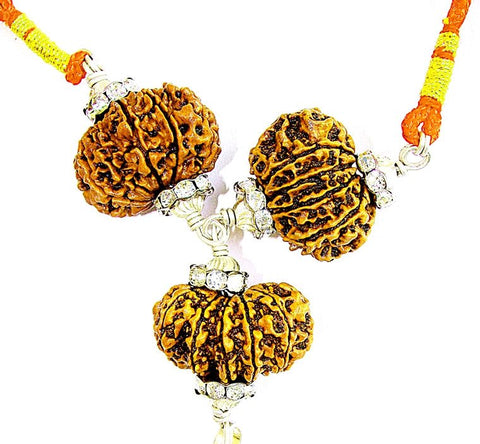 Lord Hanuman Rudraksha Pendant for Strength and Protection from Enemies - Devshoppe